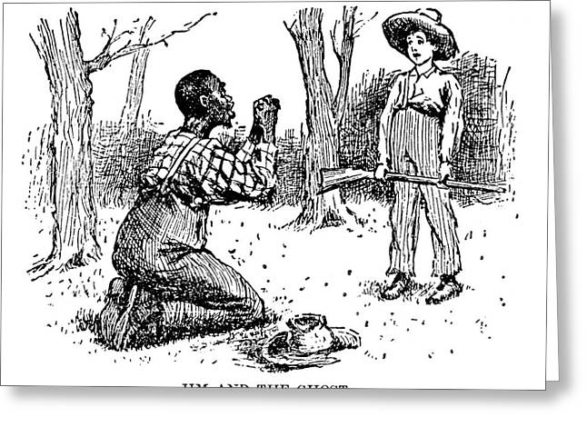 Huckleberry Finn, 1885 Greeting Card