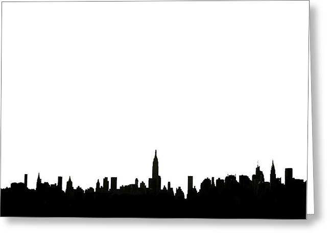 I Love Ny Greeting Card by Natasha Marco