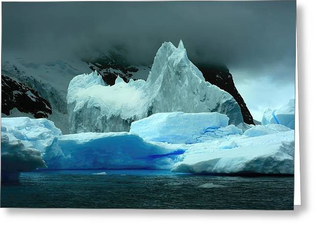 Greeting Card featuring the photograph Iceberg by Amanda Stadther