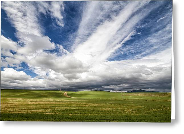 Idaho Sky Greeting Card