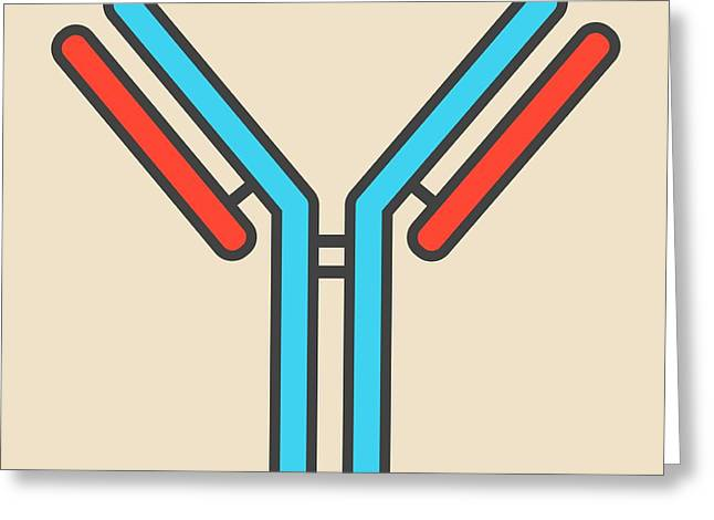 Igg Antibody Greeting Card