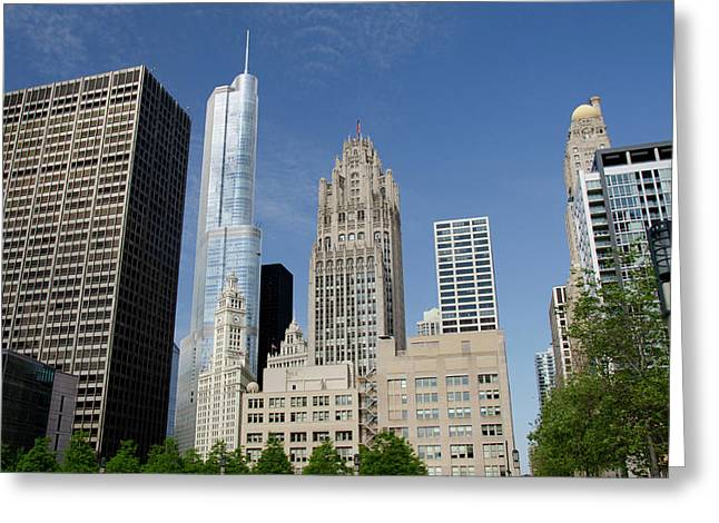 Illinois, Chicago Greeting Card
