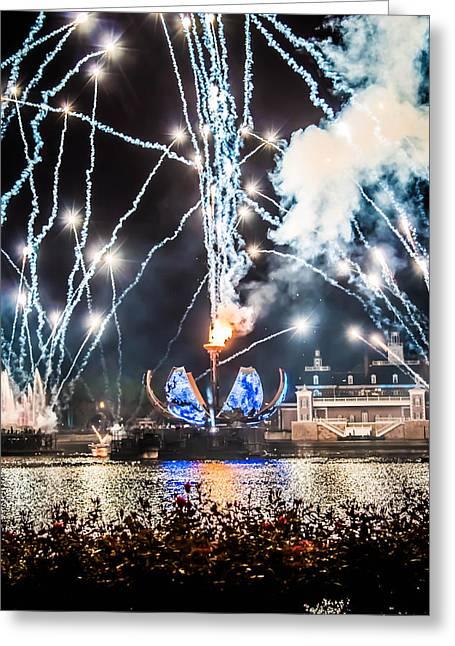 Illuminations Greeting Card by Sara Frank