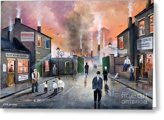 Images Of The Black Country Greeting Card