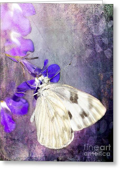 In The Garden Greeting Card by Betty LaRue