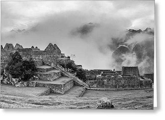 Inca City Of Machu Picchu, Urubamba Greeting Card