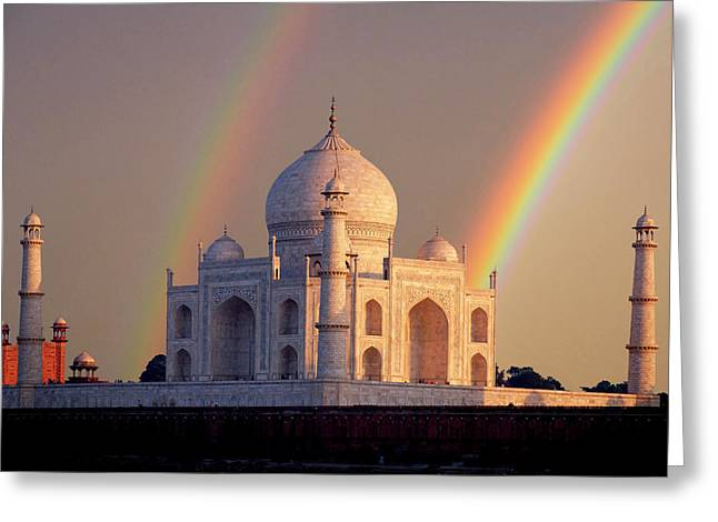 India, Uttar Pradesh, Agra Greeting Card by Jaynes Gallery