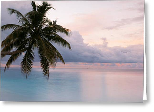 Indian Ocean Maldives Greeting Card