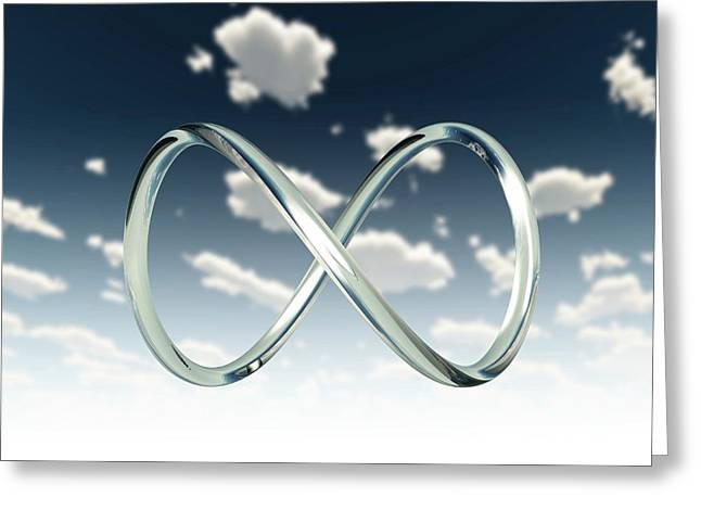Infinity Loop Greeting Card