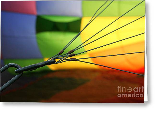 Inner Workings Greeting Card by Jennifer Mecca