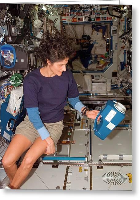 International Space Station Air Sampling Greeting Card