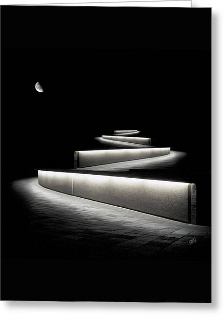 Into The Night II Greeting Card by Ben and Raisa Gertsberg