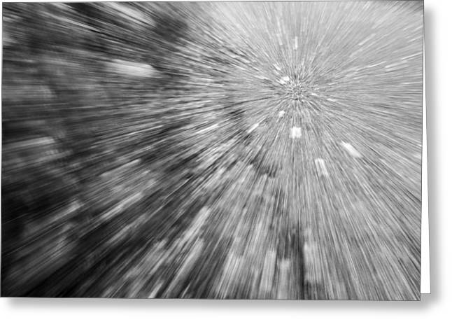 Into The Vortex Greeting Card by Jon Glaser