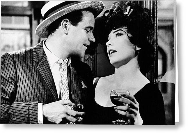 Irma La Douce  Greeting Card by Silver Screen