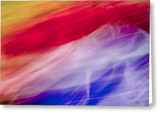 Is It The Flag Greeting Card by Jon Glaser