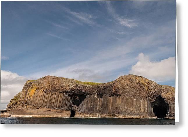 Isle Of Staffa Greeting Card by Sergey Simanovsky
