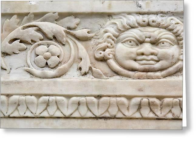 Italy, Campania, Herculaneum Greeting Card