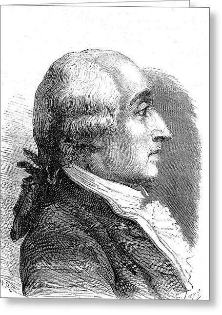 Jacques Charles Greeting Card by Collection Abecasis/science Photo Library
