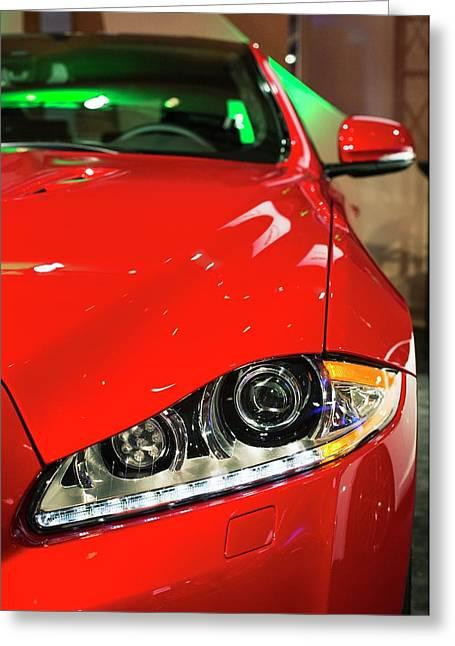 Jaguar Xjr Greeting Card