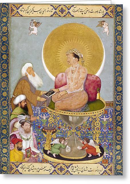 Jahangir (1569-1627) Greeting Card by Granger