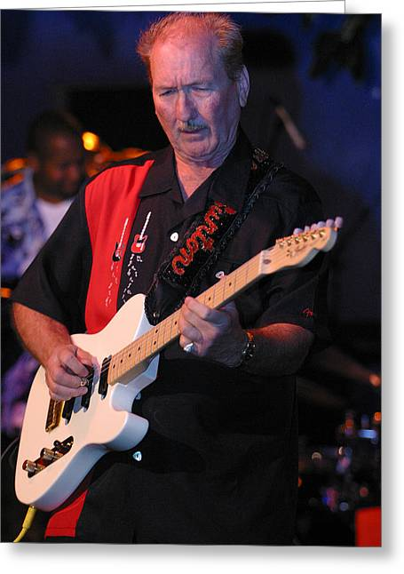 James Burton Greeting Card