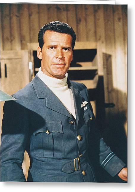 James Garner In The Great Escape Greeting Card