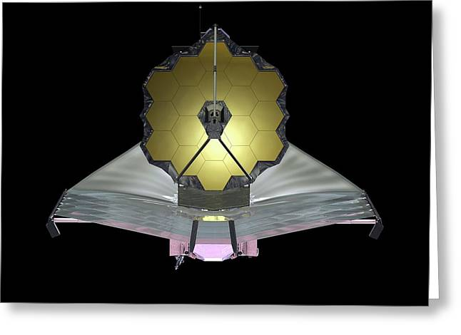 James Webb Space Telescope Greeting Card by Nasa