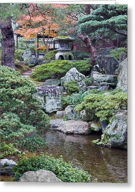Japan, Kyoto, Kyoto Imperial Palace Greeting Card
