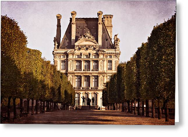 Jardin Des Tuileries / Paris Greeting Card