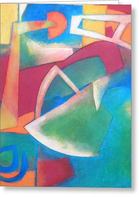 Jazz Greeting Card by Diane Fine