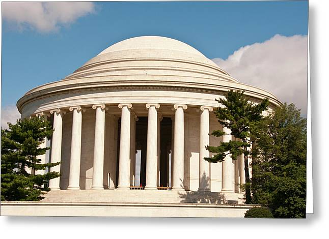 Jefferson Memorial, Washington, Dc Greeting Card