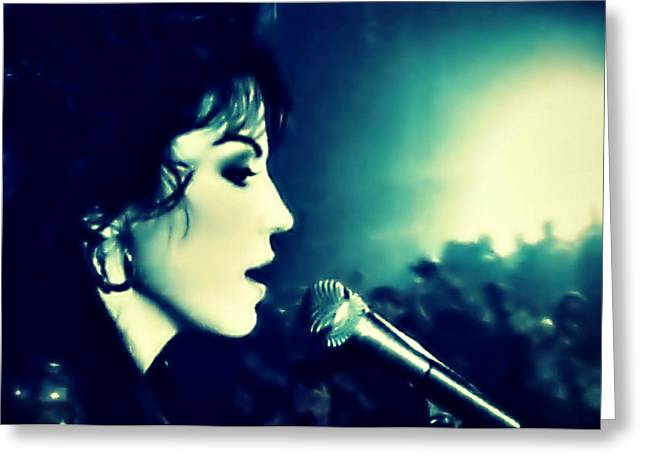 Joan Jett Greeting Card