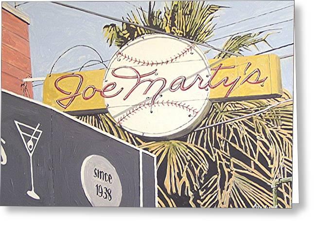 Joe Marty's Greeting Card by Paul Guyer