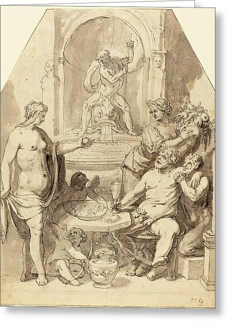 Johann Matthias Kager German, 1575 - 1634 Greeting Card