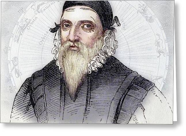 John Dee Greeting Card by Paul D Stewart