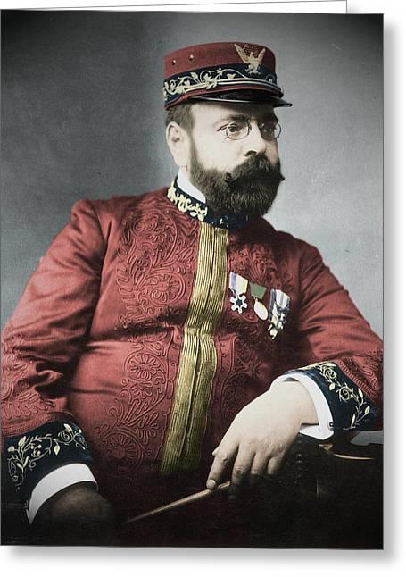 John Philip Sousa (1854-1932) Greeting Card by Granger