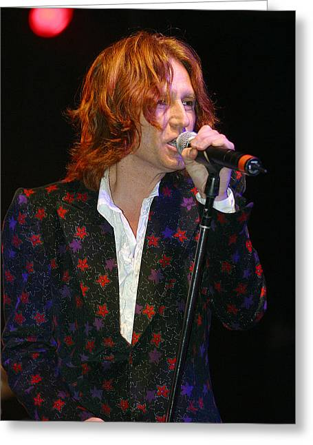 John Waite Greeting Card by Don Olea