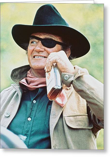 John Wayne In True Grit  Greeting Card