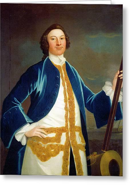 John Wollaston American, Active 1742-1775 Greeting Card