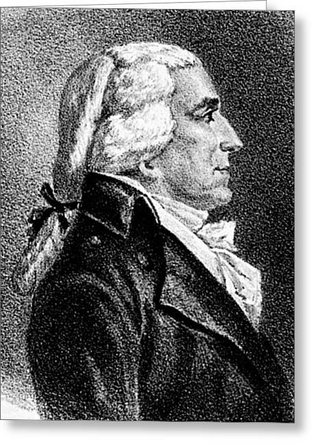 Jonathan Dayton (1760-1824) Greeting Card by Granger