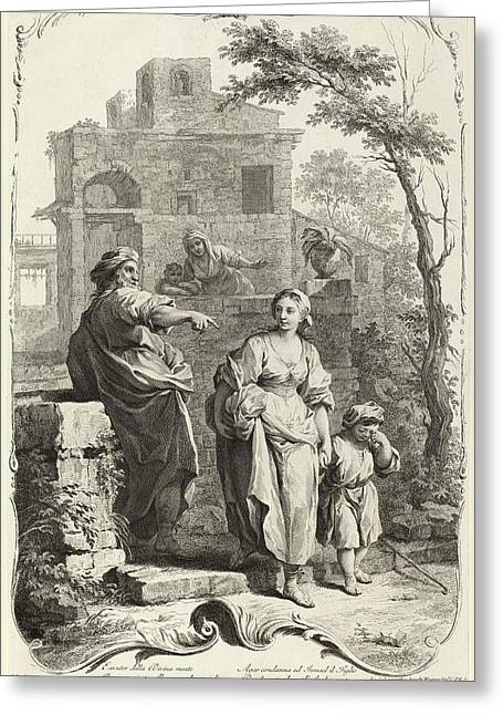 Joseph Wagner Publisher After Giuseppe Zocchi German Greeting Card