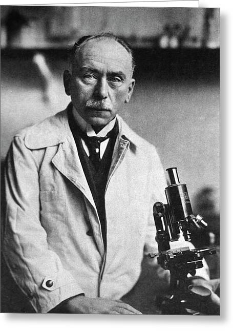 Jules Bordet Greeting Card by National Library Of Medicine