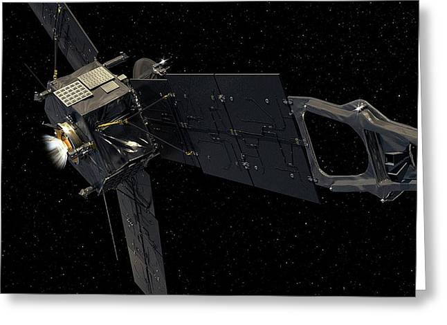 Juno Spacecraft Greeting Card