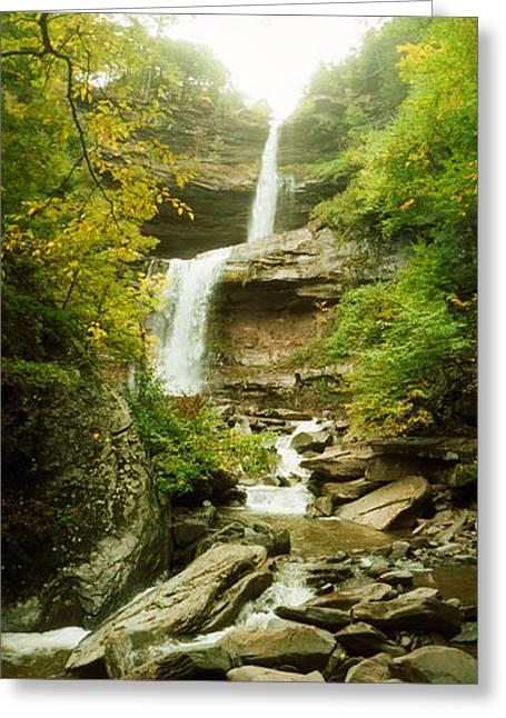 Kaaterskill Falls In Autumn, New York Greeting Card