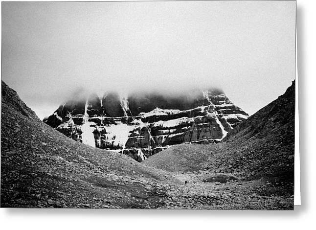 Kailash Mountain North Slope Greeting Card