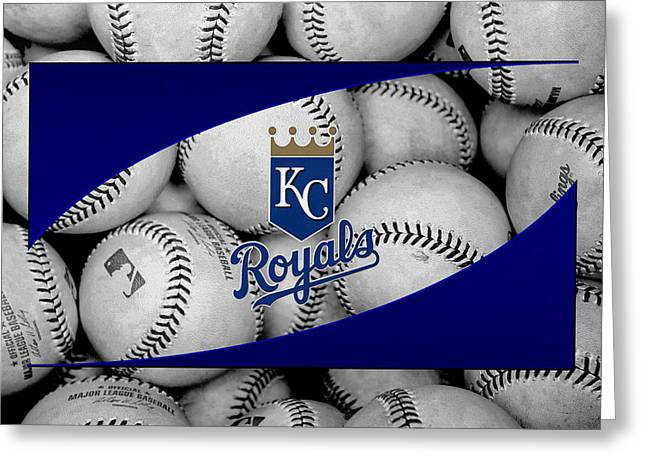 Kansas City Royals Greeting Card by Joe Hamilton