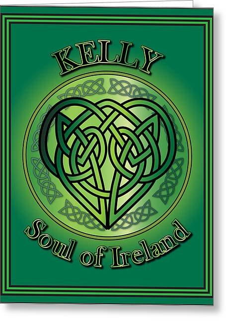 Kelly Soul Of Ireland Greeting Card by Ireland Calling