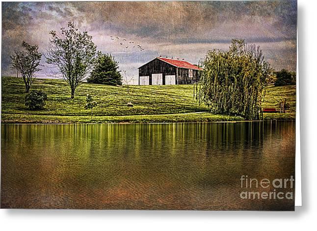 Kentucky Countryside Greeting Card by Darren Fisher