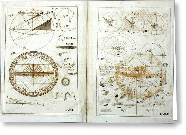 Kepler's Scientific Correspondence Greeting Card by Universal History Archive/uig