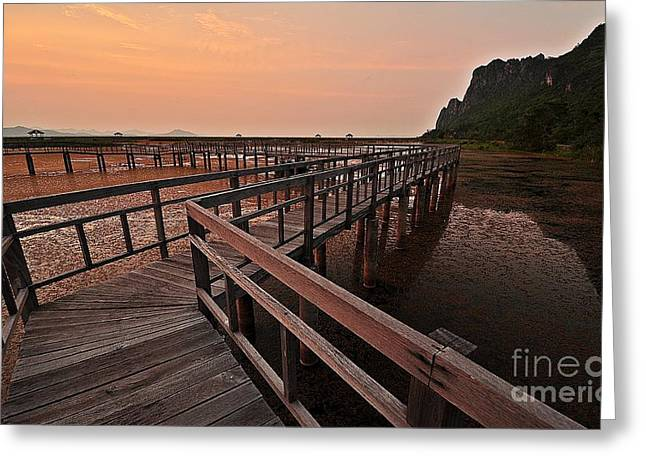 Khao Sam Roi Yot National Park Greeting Card by Therdsak Phongsureeyanan
